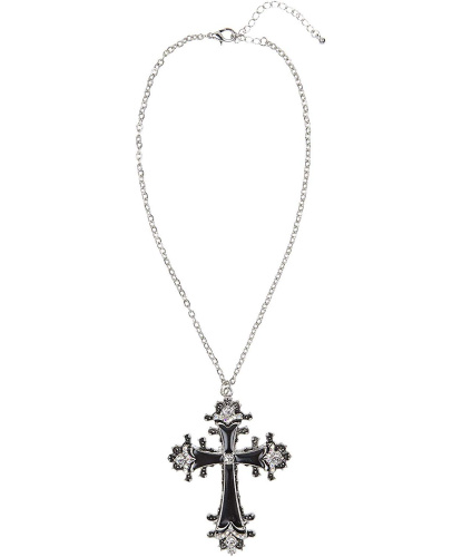 Металлический крест на цепочке (Италия)