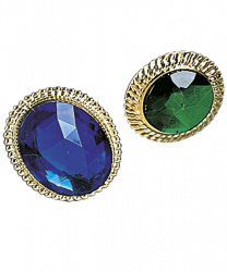 Зеленое овальное кольцо