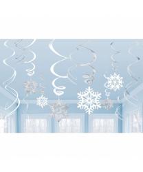 Подвесные снежинки