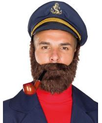 Коричневая борода