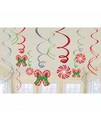Бумажные фигуры на Рождество