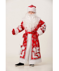 "Детский костюм Деда Мороза ""Узор"""