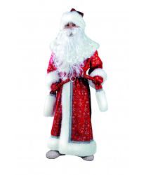 Детский костюм Деда мороза, плюш