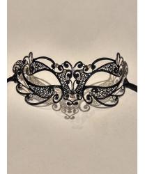 Венецианская черная маска Ninfea