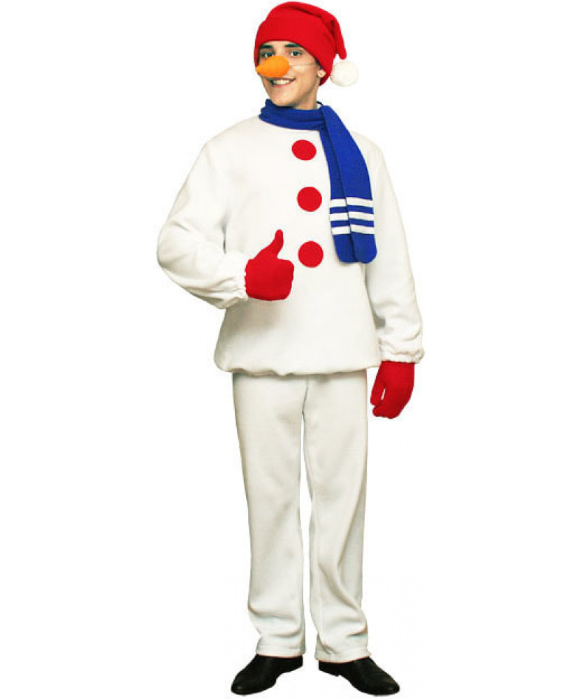 картинки костюм снеговика взрослый странице так