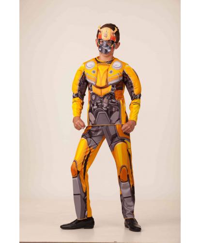 Детский костюм БамблБи: штаны, кофта, маска (Россия)