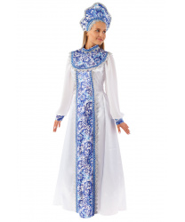Новогодний костюм Снегурочка Елена