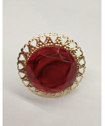 Круглое красное кольцо