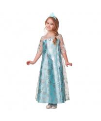 Детский костюм зимней принцессы