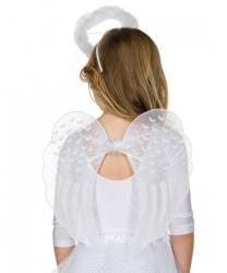 Детские крылья и нимб ангела