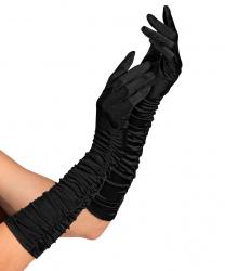 Сатиновые перчатки в сборку