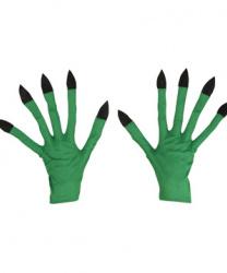 Перчатки зеленого монстра