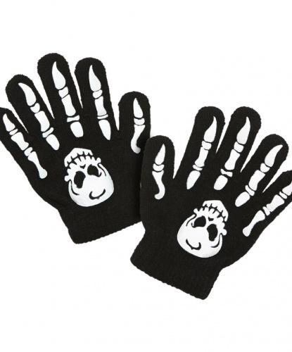Детские перчатки скелета (Италия)