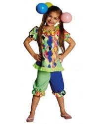 Детский костюм клоунессы