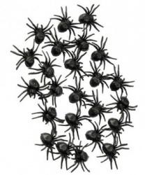 Набор пауков (24 шт по 2 см)