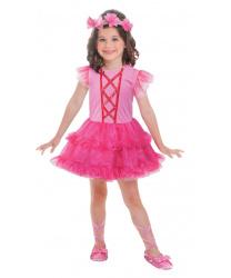 Розовое платье балерины