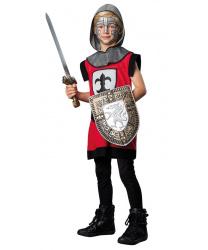 """Детский костюм """"Рыцарь"""" красный"""