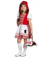 Детское платье Красной Шапочки