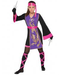 Костюм самурая для девочки