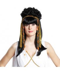 """Черный парик с челкой """"Афродита"""""""