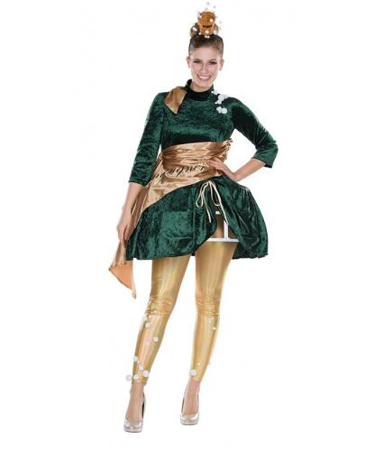 Женский костюм Шампанское: платье, леггинсы (Германия)