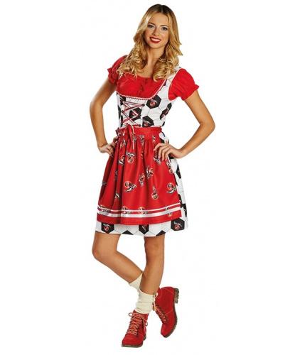 Платье с эмблемами ФК Кёльн: сарафан, топ, передник (Германия)