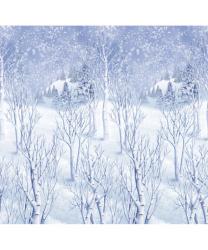 """Баннер на стену """"Зимний лес"""""""