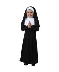 Детский костюм монахини: платье, головной убор, пояс (Польша)