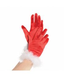 Перчатки мисс Санты