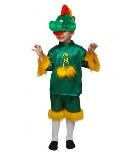 Костюм дракона на мальчика: головной убор, рубашка, бриджи (Россия)