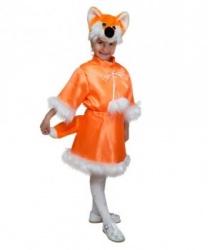 Костюм лисы: головной убор, рубашка, юбка (Россия)