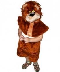 Детский костюм Лев: головной убор, накидка, бриджи (Россия)