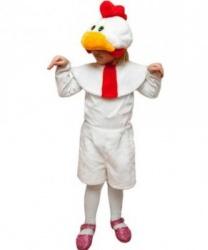 Костюм петуха детский: головной убор, накидка, бриджи (Россия)