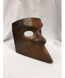 Венецианская маска Bauta коричневая
