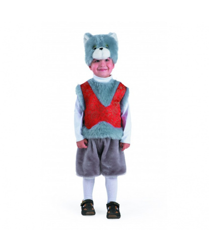 Детский костюм Кот Мартын: безрукавка, шорты, шапочка (Россия)