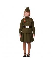 Костюм детский Солдатка