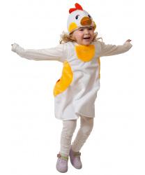 Детский костюм курочки (плюш)