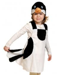 Детский костюм сороки (плюш)