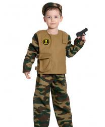 """Детский костюм """"Спецназ"""" с пистолетом"""