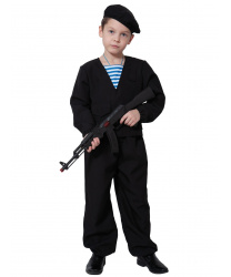 """Детский костюм """"Морпех"""" с автоматом"""