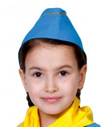 Детская пилотка стюардессы (голубая)