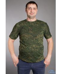 Детская камуфлированная футболка