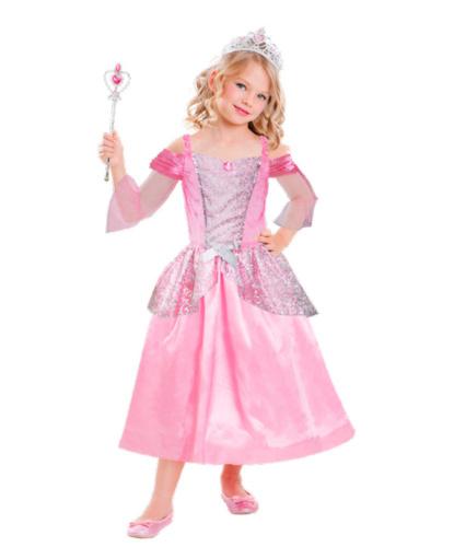 Костюм принцессы: головной убор, палочка, платье (Германия)