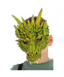 Маска зеленого дракона
