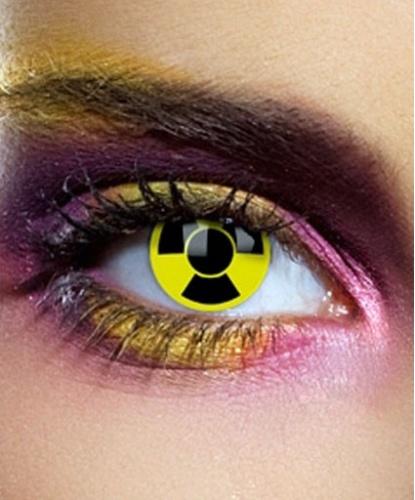 Линзы Радиация, без диоптрий, срок ношения 1 год (Англия)