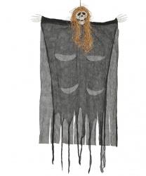Подвесная кукла скелета в лохмотьях