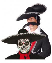 Черное мексиканское сомбреро