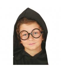 Круглые очки без стекол
