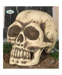 Большой череп из пенопласта (32 см)