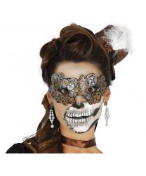 Латексная маска в стиле стимпанк